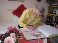 Paní Františka Bebarová - 102 let