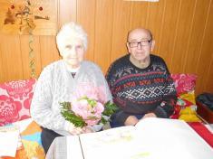 Diamantová svatba - manželé Bilíkovi