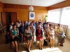 Setkání 60 tiletých jubilantů - 1.10.2016