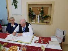 Kamenná svatba - manželé Náplavovi