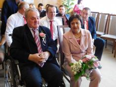 Zlatá svatba - manželé Úlehlovi