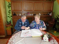 Zlatá svatba - manželé Dobešovi