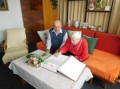 Kamenná svatba - manželé Bartoňovi