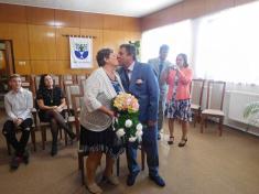 Zlatá svatba manželé Horákovi - 26.10.2019