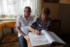 Zlatá svatba manželé Mullerovi - 25.4.2020