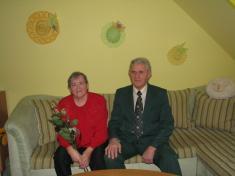 Zlatá svatba - manželé Lenhartovi