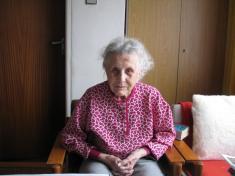 paní Františka Bebarová - 100 let