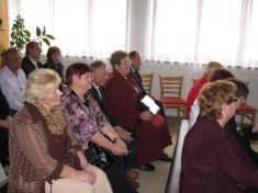 Setkání 60 tiletých jubilantů